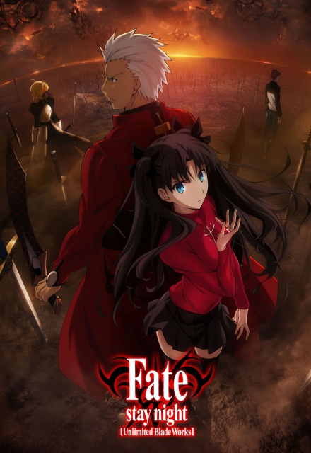 Fate Stay Nights - unlimited Blade Works