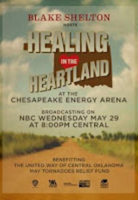 Healing in the Heartland: Relief Benefit Concert