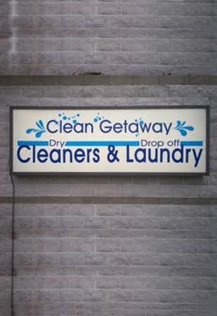 A Clean Get-Away!